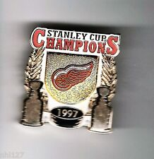 1997 Detroit Red Wings Original Stanley Cup Champions NHL Hockey Lapel Pin