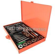 Filiera per filettatura ferro kit 40 filiere maschi e femmina in metallo