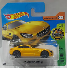 Hot Wheels 2017 `15 MERCEDES-AMG GT HW EXOTICS NEU / OVP