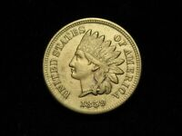 SUMMER SALE!! XF 1859 INDIAN HEAD CENT PENNY w/ DIAMONDS & FULL LIBERTY #4q