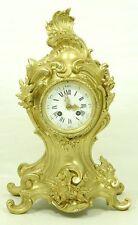 Museale rococó bronce reloj Napoleón III. top.
