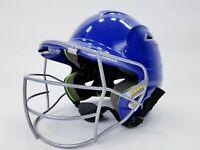 Under Armour UABH100 Baseball Batting Helmet w Face Guard Size 6 1/2 - 7 3/4