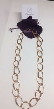 Bronzallure Large Oval Link Chain Necklace - NEW with Tags!