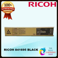 New & Original Ricoh 841695 Black Toner Cartridge MPC4502 MPC5502 31K Pages