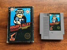 Hogan's Alley Black Version COMPLETE Game w/ Box Nintendo NES - TESTED