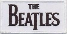 """Beatles Drop T Logo Patch 9cm x 4.5cm (3 1/2"""" x 1 3/42)"""