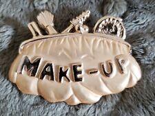 Makeup Pin Gold Tone