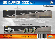 Coastal Kits 1:48 US Carrier Deck 4 sections 1680x297mm Display Base #CKS0365-48