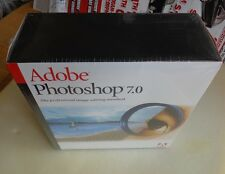 100% Genuine: Brand New Adobe Photoshop 7.0 for Windows Full Version Retail Box