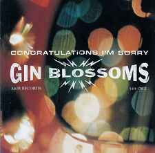 GIN BLOSSOMS : CONGRATULATIONS I'M SORRY / CD - TOP-ZUSTAND