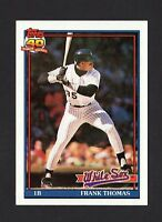 1991 Topps 40 Years of Baseball  #79 Frank Thomas Chicago White Sox