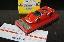 1/43 BBR Ferrari enzo FXX EVO EX23PRE Premium Rosso Corsa 17/20  Red leatherRARE