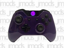 Nuevo Xbox One 1 Custom Controlador Inalámbrico (brillo púrpura) Led Mod