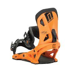Now Drive 2017 Snowboard Bindings Sz Medium Jeremy Jones Orange Burton Genesis