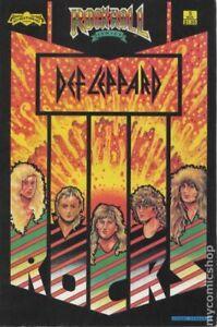 Rock N Roll Comics #5 VG 1989 1989 1st Printing Stock Image Low Grade