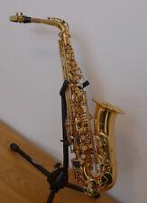 Altsaxophon Messing lackiert, tief Bb bis hoch fis, neu