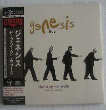 GENESIS - Live The Way We Walk Volume One The Shorts JAPAN MINI LP 2CD NEU RAR!