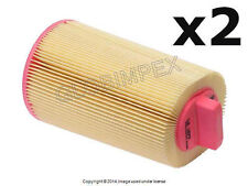 Mercedes w203 C230 (2003-2005) Air Filter (Set of 2) MAHLE-KNECHT + WARRANTY