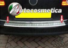 VW Passat 2012> 3C B7 Estate chrome rear bumper protector guard S.STEEL