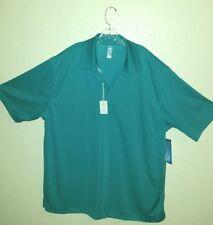 New w/Tag Men's Tall PGA Tour Airflux Sz XXXLT Golf Polo Shirt Capri Breeze
