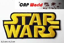 Star Wars PATCH Aufbügler Aufnäher Abzeichen Bügelbild Patch Cap Schrift Logo