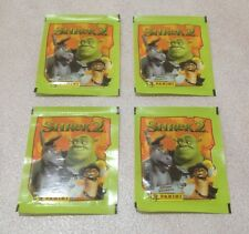 2004 Panini Dreamworks Shrek 2 Stickers - Lot of 4 Packs