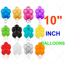 "5""-10"" inch Plain Balloons Assorted Colours Small Best Quality Air Helium Baloon"