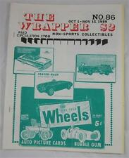 THE WRAPPER NON SPORTS MAGAZINE #86 OCT 1989 WHEELS BATMAN DISPLAY BOXES