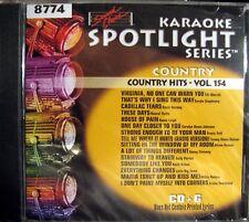 Sound Choice Karaoke CDG - SC8774  Vol. 154  Country Hits