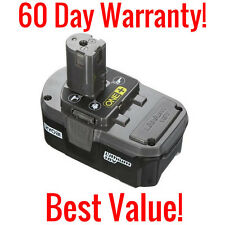 GENUINE RYOBI ONE+ P105 18 VOLT LITHIUM ION REPLACEMENT BATTERY 18V 48WH LI-ION