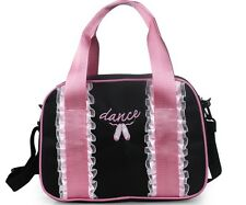 UK SELLER New Pretty Lovely Kids Girls Black BALLET DANCING Handbag Shoulder BAG