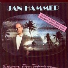 Escape From Television 0008811913328 by Jan Hammer CD