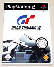 GRAN TURISMO 4 - PLAYSTATION 2 - DVD BOX MIT HANDBUCH - PS2 RACING RENNSPIEL