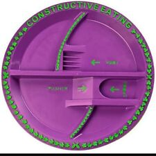 Constructive Eating Plate Fairy garden