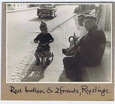 RYSLINGE Denmark Old Men & Child on a Tricycle - Vintage Photograph 1963
