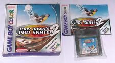 Juego: tony Hawk 's Pro Skater 2 para Gameboy Color/completo OVP + instrucciones