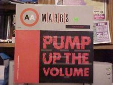 "Marrs Pump Up The Volume, Anitina  12"" 4ad"