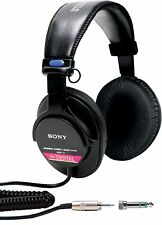 Sony MDRV6 Studio Monitor Headphones with CCAW Voice Coil - Brand New in Box!!