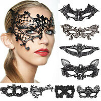 Sexy Lace Flower Eye Face Mask Masquerade Ball Prom Halloween Costume Party New