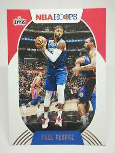 Panini Hoops 2020-21 N28 card NBA base #97 Paul George Los Angeles Clippers