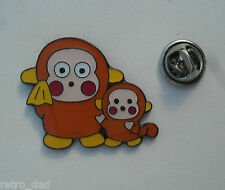 Fun Cute ANIME MONKEY MUM CHILD New Enamel METAL PIN BADGE Pins Comic Video Game