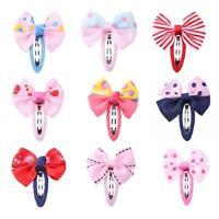 Cute Kid Baby Girls Bowknot Barrettes Princess Party Hair Clip Hairpins Headwear
