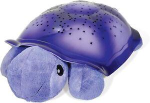Cloud B Twilight Turtle Plush Baby Child Stars Sleep Bed Night Light (Purple)