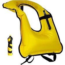 Inflatable Snorkeling Snorkel Vests Vest Adult Life Free Diving Safety Jackets