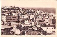 Africa postcard Morocco, Tangier Tanger Vue prise des Nouveaux Boulevards