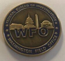 FBI Federal Bureau of Investigation WFO Washington Field Office Washington D.C.