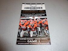 Louisiana-Lafayette Ragin Cajuns vs Georgia Bulldogs 9-4-2010 Game Ticket Stub