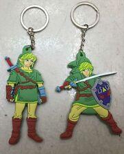 Legend of Zelda man 2pcs key chain key chains anime key cute