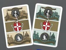 WORSHIPFUL1978 PLAYING CARDS 2x  SINGLE CARDS 25TH ANNIVERSARY QUEENS CORONATION