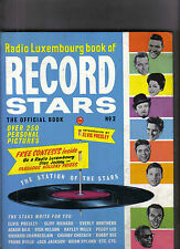 Radio Luxembourg Book Of Record Stars Music book